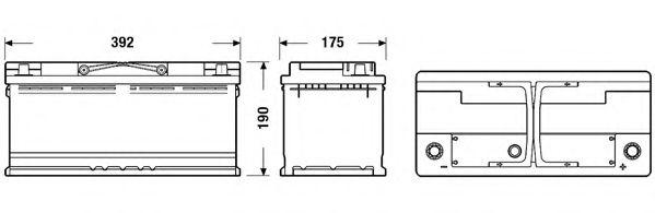 Аккумулятор Exide Exell EB1100